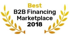 Best B2B Financing Marketplace – W&F Finance Awards